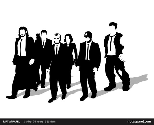 The Avengers/Reservoir Dogs Avengerer Dogs