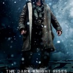 The Dark Knight Rises Bane in Snow Poster
