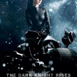 The Dark Knight Rises Catwoman in Snow Poster