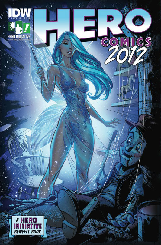 Hero Comics 2012 by J. Scott Campbell
