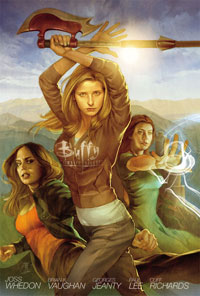 Buffy the Vampire Slayer S8 Vol1 HC Cover