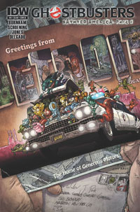 IDW Publishing: Ghostbusters #9
