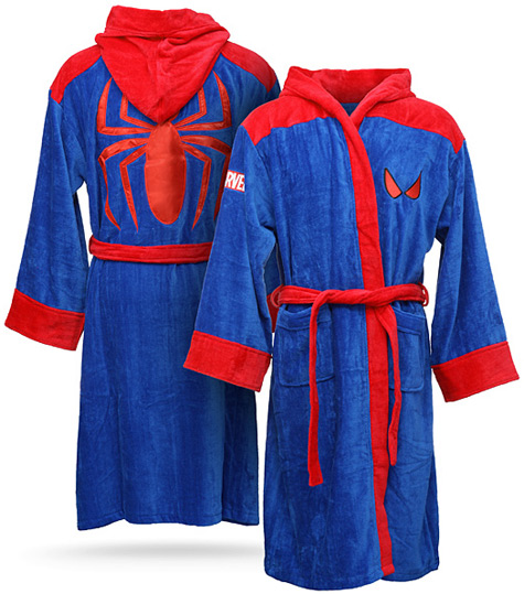 Spider-Man Bath Robe