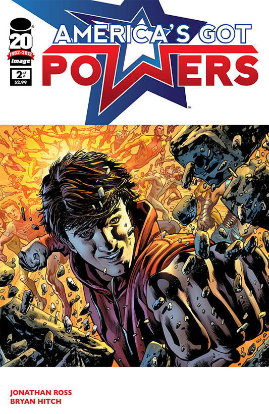 Americas Got Powers #2 by Bryan Hitch