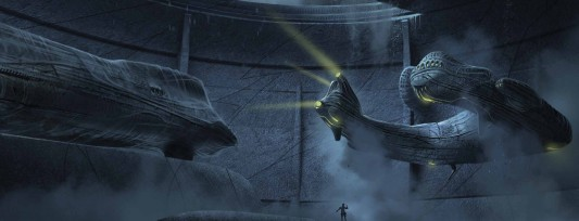 Prometheus: The Art of the Film Juggernaut Ship