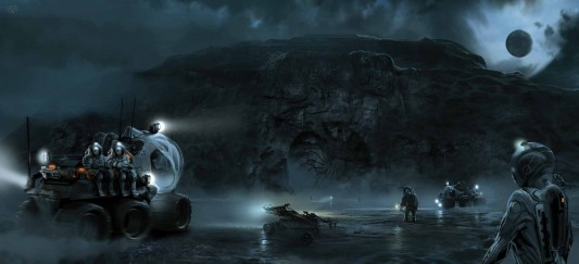 Prometheus: The Art of the Film ATVs and Rovers