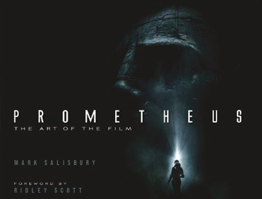 Prometheus Art Book Cover