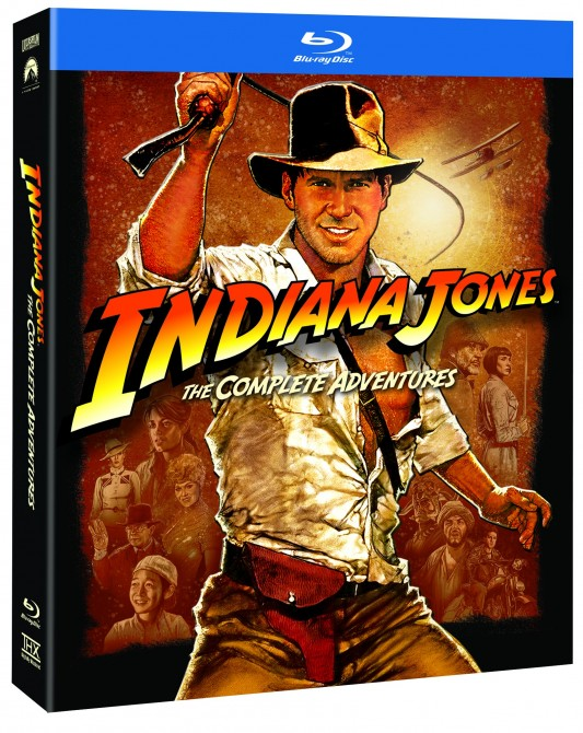 Indiana Jones: The Complete Adventures Box Art