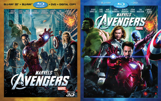 Marvel's The Avengers Blu-ray sets