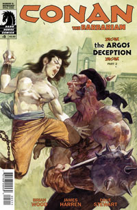 Dark Horse Comics: Conan The Barbarian #5 cover