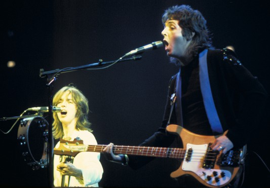 Jimmy McCulloch and Paul McCartney Wings