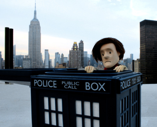 Doctor Who puppet - NYC
