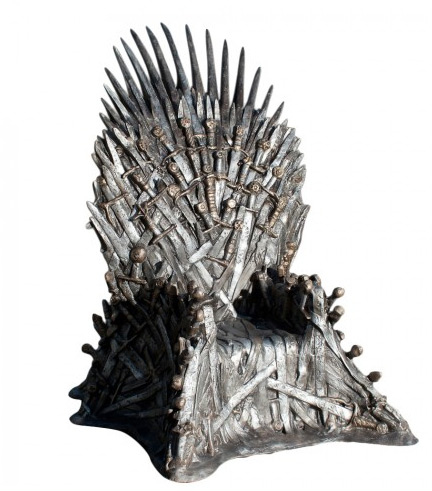 $30,000 Iron Throne replica Game Of Thrones