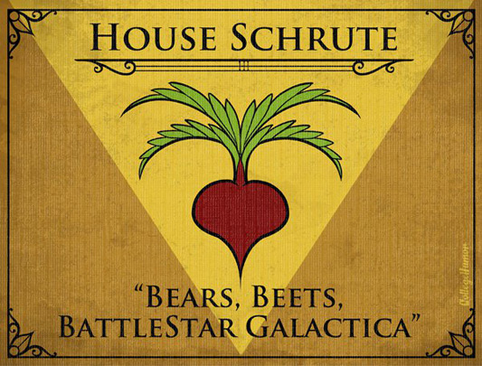 The Office - Shrute Family House Sigil