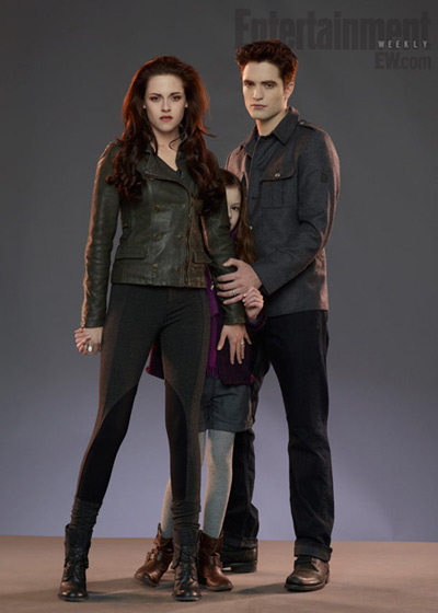 The Twilight Saga: Breaking Dawn 2 - Renesmee, Bella, Edward