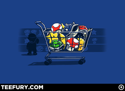 Super Mario Shopping Kart