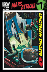 IDW Publishing: Mars Attacks #1