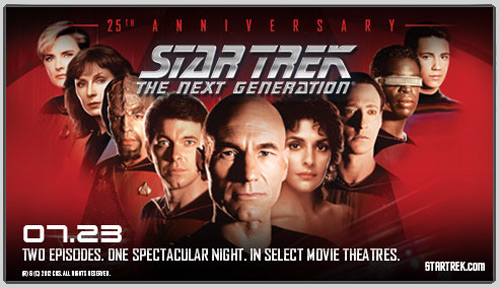 Star Trek: The Next Generation 25th Anniversary Event