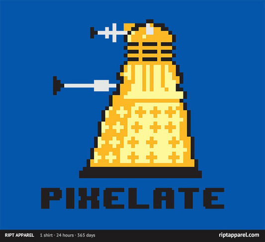 Doctor Who Pixelate Shirt