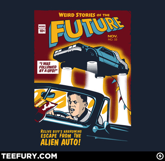 Back To The Future Biff&#039;s Weird Stories