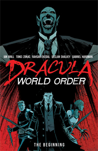 Dracula World Order #1 cover