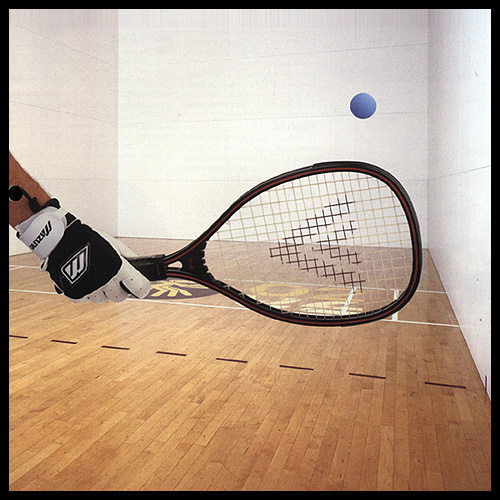 Racquetball Action