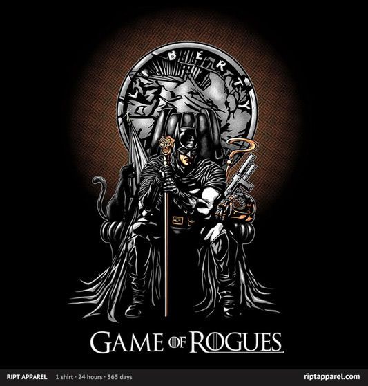 Game of Thrones Batman Game of Rogues