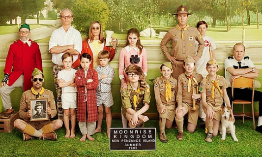 Moonrise Kingdom: Group Photo