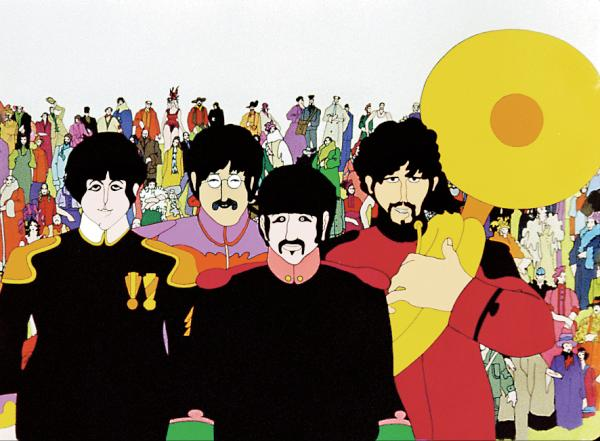 The Beatles Yellow Submarine Still