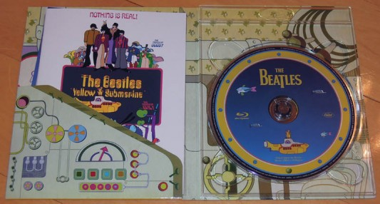 Yellow Submarine Blu-Ray Inside Contents