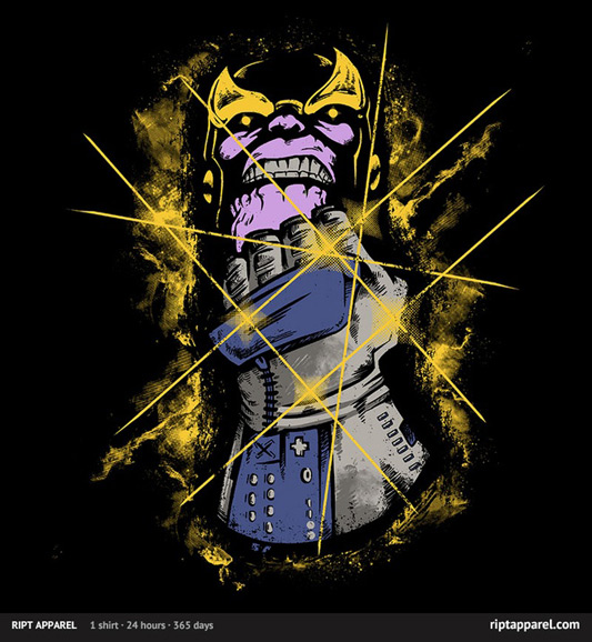 Thanos The Power Gauntlet Shirt