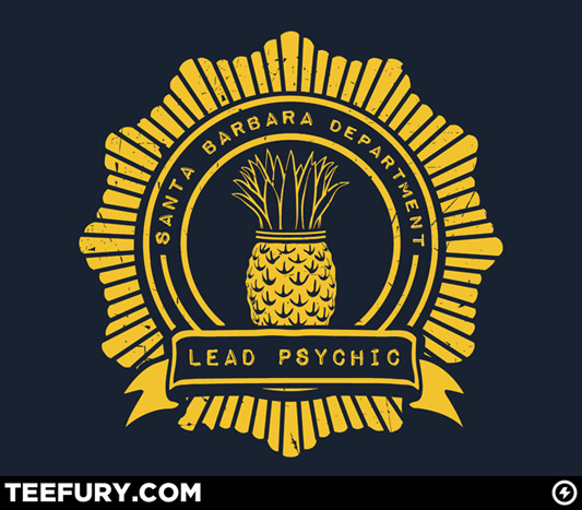 Psych Pineapple Brigade Shirt
