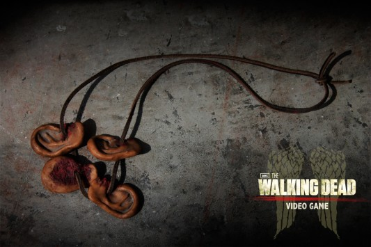 The Walking Dead Walker Ear Necklace