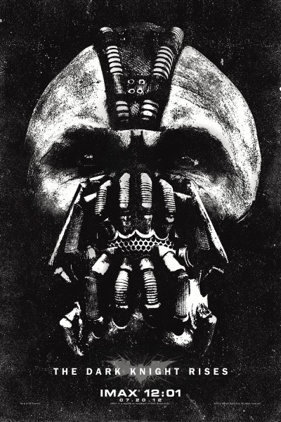 The Dark Knight Rises Bane IMAX Poster Full