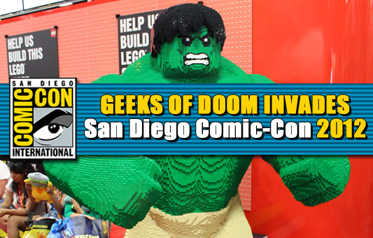 Geeks of Doom Invades SDCC 2012 Preview Night