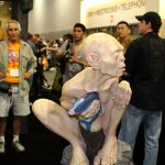 SDCC 2012: Preview night photos: Weta life-sized Gollum statue