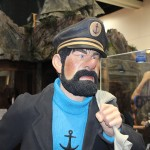 SDCC 2012: Preview night photos: Weta Captain Haddock bust