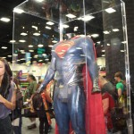 SDCC 2012: Preview night photos: Superman Man of Steel suit