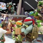 SDCC 2012: Preview night photos: Teenage Mutant Ninja Turtles