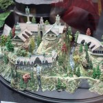 SDCC 2012: Preview night photos: LOTR Rivendell scale model