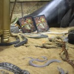 SDCC 2012: Preview night photos: Indiana Jones: The Complete Adventures Blu-ray with LIVE snakes