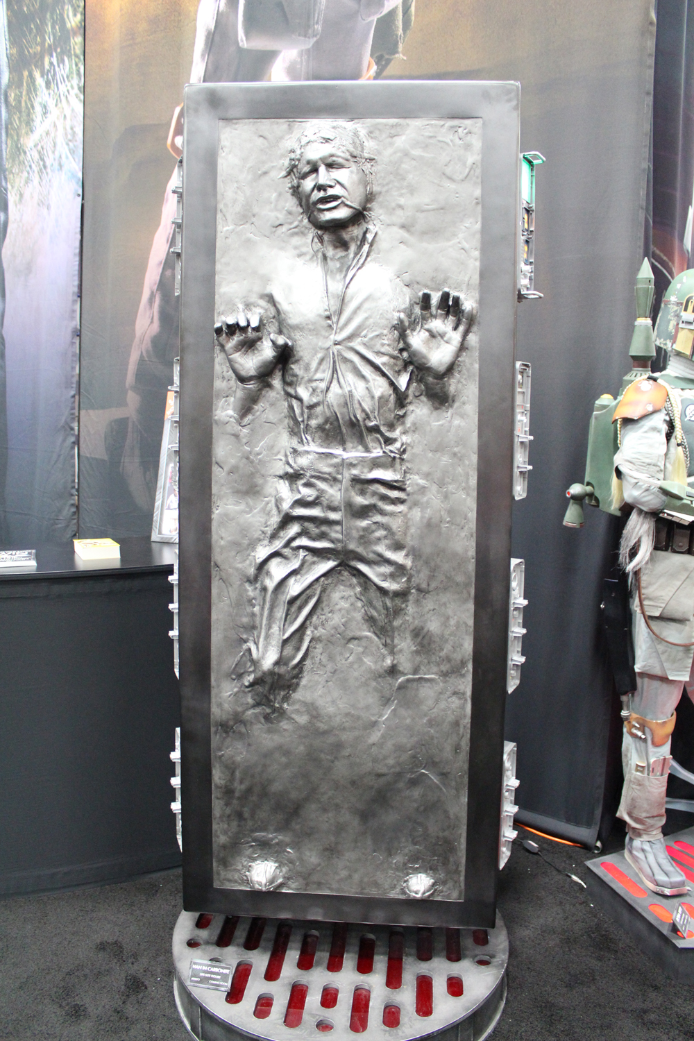 SDCC 2012: Preview night photos: life-sized Han Solo in Carbonite