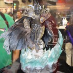 SDCC 2012: Preview night photos: World of Warcraft Arthas statue