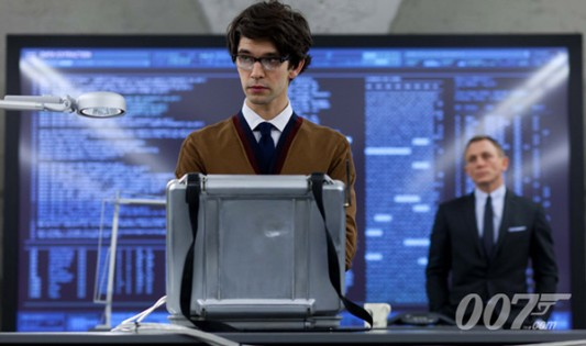 Ben Whishaw as Q Full Image