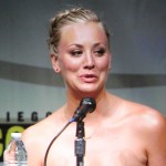 SDCC 2012: Big Bang Theory panel: Kaley Cuoco