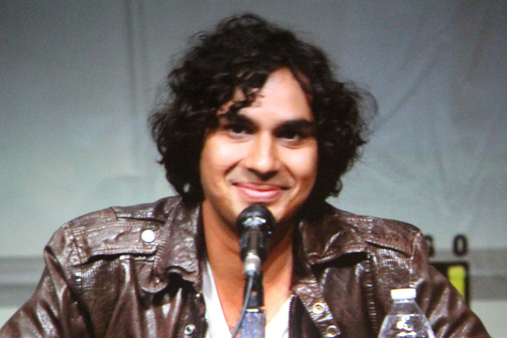 SDCC 2012: Big Bang Theory panel: Kunal Nayyar