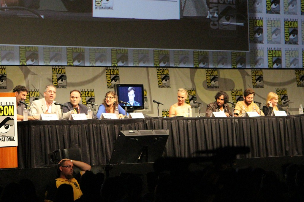 SDCC 2012: Big Bang Theory panel