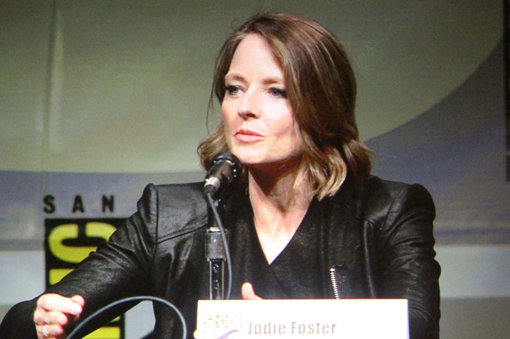 SDCC 2012: Elysium panel: Jodie Foster
