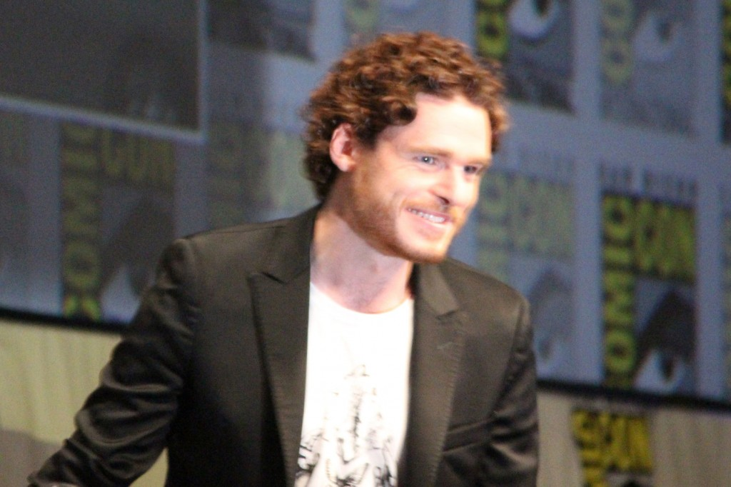 SDCC 2012: HBOs Game of Thrones panel: Richard Madden