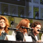 SDCC 2012: HBOs Game of Thrones panel: Rose Leslie, Michelle Fairley, Richard Madden